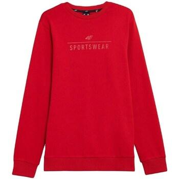 Oblačila Moški Puloverji 4F BLM350 Rdeča