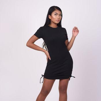 Oblačila Ženske Kratke obleke Project X Paris Robe femme noir