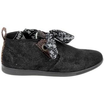 Čevlji  Ženske Polškornji Armistice Stone Mid Cut Spacy Noir Črna