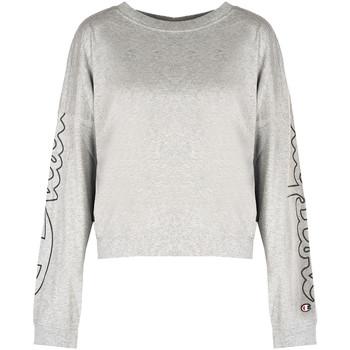 Oblačila Ženske Majice z dolgimi rokavi Champion  Siva