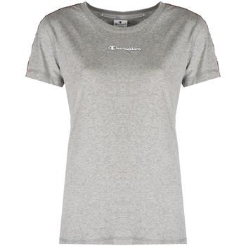 Oblačila Ženske Majice s kratkimi rokavi Champion  Siva