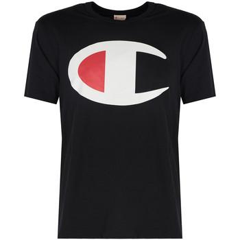 Oblačila Moški Majice s kratkimi rokavi Champion  Črna