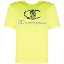 Oblačila Moški Majice s kratkimi rokavi Champion  Rumena