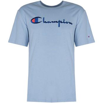 Oblačila Moški Majice s kratkimi rokavi Champion  Modra
