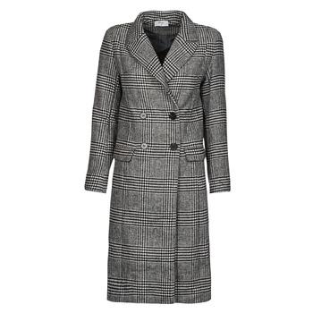 Oblačila Ženske Plašči Betty London PIXIE Črna / Siva