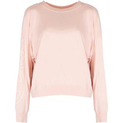 Oblačila Ženske Majice z dolgimi rokavi Champion  Rožnata