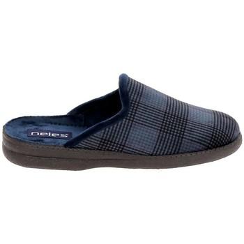 Čevlji  Nogavice Boissy JH25624 Marine Modra