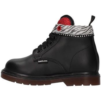 Čevlji  Deklice Polškornji Balducci MATR4864 BLACK