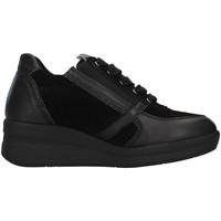 Čevlji  Ženske Visoke superge Melluso R25623A BLACK