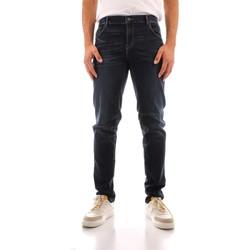 Oblačila Moški Jeans straight Trussardi 52J00000 1Y000186 NAVY BLUE
