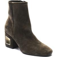 Čevlji  Ženske Polškornji Vic 1R6000D.R18Q040350 marrone
