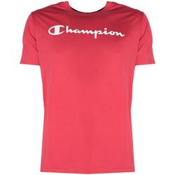 Oblačila Moški Majice s kratkimi rokavi Champion  Rdeča