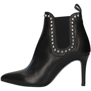 Čevlji  Ženske Gležnjarji Albano 1078A BLACK