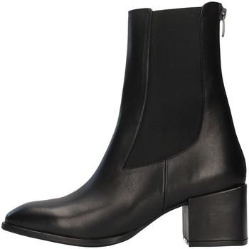 Čevlji  Ženske Gležnjarji Albano 1056A BLACK