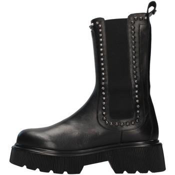 Čevlji  Ženske Gležnjarji Albano 2023A BLACK