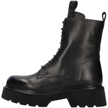 Čevlji  Ženske Gležnjarji Albano 1083A BLACK