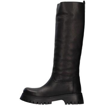 Čevlji  Ženske Mestni škornji    Albano 1075A BLACK