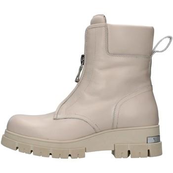 Čevlji  Ženske Gležnjarji Albano 1084A WHITE