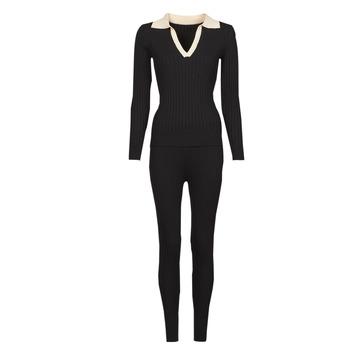 Oblačila Ženske Trenirka komplet Moony Mood  Črna