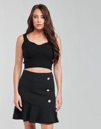 Oblačila Ženske Topi & Bluze Moony Mood  Črna