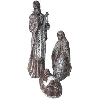 Dom Božična dekoracija Signes Grimalt Rojstvo Set Od 3 U Plateado