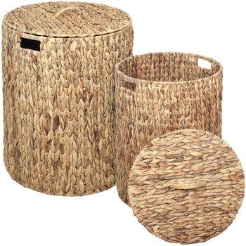 Dom Košare, škatle in košarice Signes Grimalt Košara Set Od 2 U Marrón