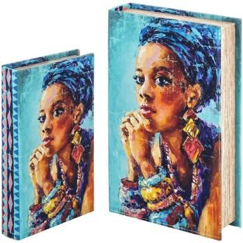 Dom Kovčki in škatle za shranjevanje Signes Grimalt Knjižna Škatla Set 2 U Azul