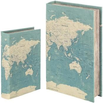 Dom Kovčki in škatle za shranjevanje Signes Grimalt Knjižna Škatla Set 2 U Verde