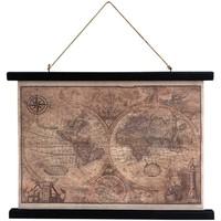 Dom Slike, platna Signes Grimalt Zvitek Platnenega Zemljevida Multicolor