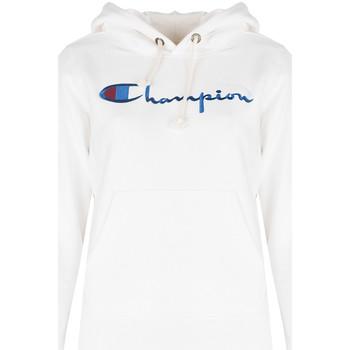 Oblačila Ženske Puloverji Champion  Bela