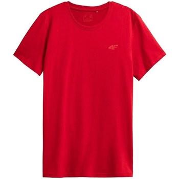 Oblačila Moški Majice s kratkimi rokavi 4F TSM352 Rdeča