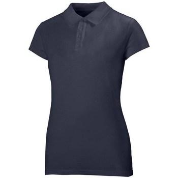 Oblačila Ženske Polo majice kratki rokavi Helly Hansen Crew Polo Mornarsko modra