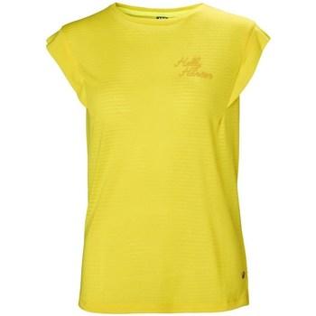 Oblačila Ženske Majice s kratkimi rokavi Helly Hansen Siren Spring Rumena