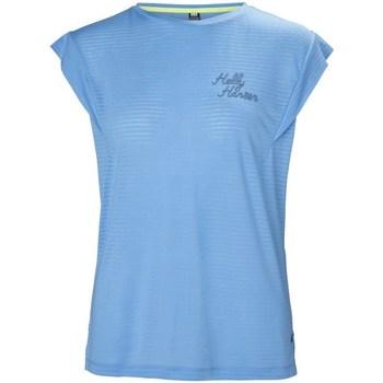 Oblačila Ženske Majice s kratkimi rokavi Helly Hansen Siren Spring Svetlo modra