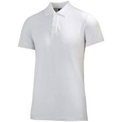 Oblačila Moški Polo majice kratki rokavi Helly Hansen Crew Polo Bela