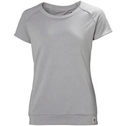 Oblačila Ženske Majice s kratkimi rokavi Helly Hansen Malla Siva