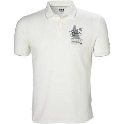 Oblačila Moški Polo majice kratki rokavi Helly Hansen Racing Bela