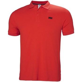 Oblačila Moški Polo majice kratki rokavi Helly Hansen Driftline Rdeča