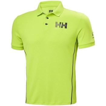 Oblačila Moški Polo majice kratki rokavi Helly Hansen HP Racing Zelena