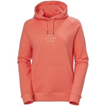 Oblačila Ženske Puloverji Helly Hansen F2F Cotton Hoodie Rdeča