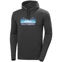 Oblačila Moški Puloverji Helly Hansen Nord Graphic Pullover Grafitna