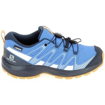Čevlji  Otroci Tek & Trail Salomon Xa Pro V8 Jr CSWP Bleu Modra
