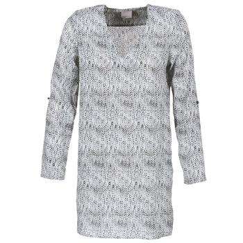 Oblačila Ženske Kratke obleke Vero Moda COOLI Črna / Bela