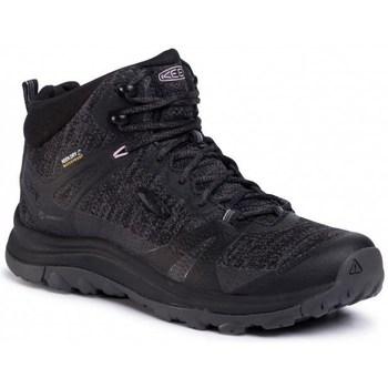 Čevlji  Ženske Pohodništvo Keen Terradora II Mid WP Črna