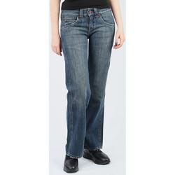 Oblačila Ženske Lahkotne hlače & Harem hlače Lee Avalon Loose Fit L344BH75 blue