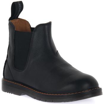 Čevlji  Dečki Polškornji Grunland NERO 88TABA Nero
