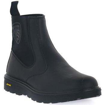 Čevlji  Moški Škornji Blauer BLK GUANTANAMO 7 Nero