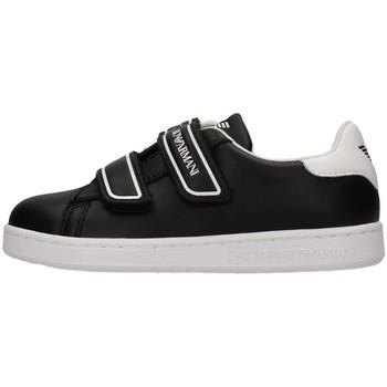 Čevlji  Dečki Nizke superge Emporio Armani EA7 XSX014 BLACK