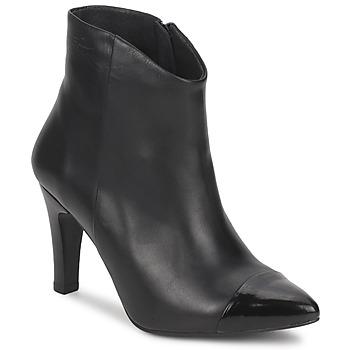 Čevlji  Ženske Gležnjarji Pastelle ARIEL Črna
