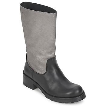 Čevlji  Ženske Mestni škornji    Pastelle PETULA Srebrno-Črna
